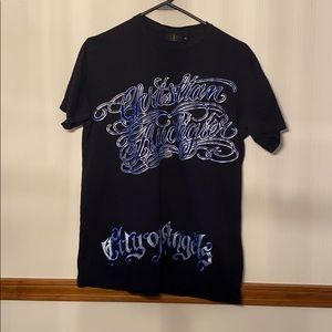 Christian Audigier size medium t shirt